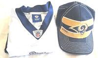 K12 St. Louis Rams #8 Sam Bradford White Reebok NFL Football Jersey Mens 50 Hat
