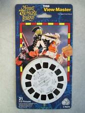 SEALED 1995 VIEW-MASTER 3 REELS HENSON'S MUPPET TREASURE ISLAND 21 3-D PICTURES