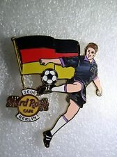 BERLIN Hard Rock Cafe Pin 2006 Worlds Soccer Cup Series with Flag