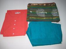 Salwar Suit 3 Pcs Set Orange/Green/ Size XXL New