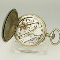 Rare! Taschenuhr Herren Uhr Uhren no spindel chronometer armbanduhr duplex 24 St