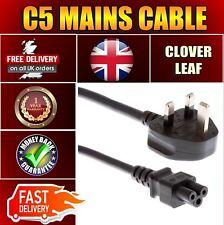 Laptop de 3 Pin cable de alimentación de red cable de plomo C5 aprobado por la CE Trébol Mickey Mouse
