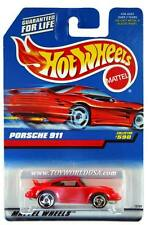 1998 Hot Wheels #590 Porsche 911 (red car card)