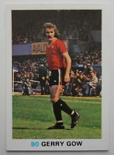 FKS Soccer Stars 1977-1978 NUMBER 80 GERRY GOW