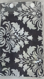 Nursing Cover Breastfeeding Udder Covers Gray Grace Pattern Cotton-NEW FREE SHIP