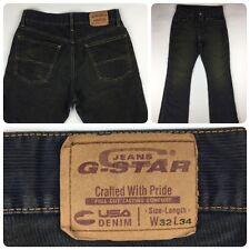Woman's G-Star Raw Denim Jeans Flare Pants 32 x 34