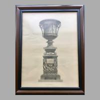 19th Century Lithographic Print of Giovanni Piranesi Engraving of Vase