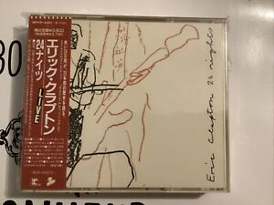 ERIC CLAPTON / 24 NIGHTS (1991) 2 CD BOX First Press Japan Cd Complete Very Rare