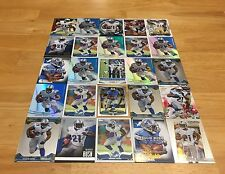 REGGIE BUSH LOT OF 25 FOOTBALL CARDS DETROIT LIONS RUNNING BACK 49ERS DOLPHINS