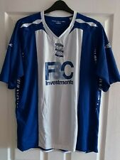 Birmingham City FC Blues Home Umbro 2007 / 08 Football Shirt Size XXL KRO