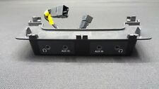 Audi Q7 4L Control Panel Multimedia Rear Left Right for Aux IN And Headphones