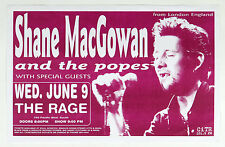 Shane MacGowan and The Popes Poster 1999 Jun 9 Vancouver