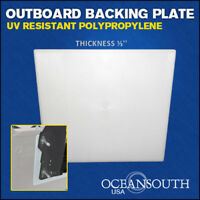 """OUTBOARD TRANSOM MOUNTING BRACKET PLATE 1/3"""" thickness"""