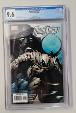 MOON KNIGHT #1 CGC 9.6  - WHITE PAGES - D.FINCH ART - New Case