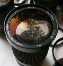 Vivitar Canon FD Mt 28~200mm f/3.5~5.3 Macro Zoom Lens AE-1 Program A-1 T50 T70