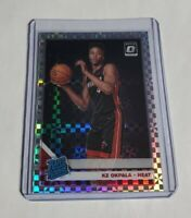 R40,962 - KZ OKPALA - 2019/20 OPTIC - RATED ROOKIE - #189 - CHECKERBOARD - SSP -
