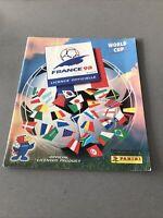 Panini World Cup 98 France Football Empty Album