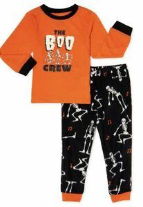 Kid's Matching Family Halloween Pajamas Boo Crew, 2-Piece Set Sizes (S,M,L) NEW