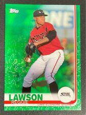 2019 TOPPS BASEBALL REGGIE LAWSON PRO DEBUT #87 19/99 green