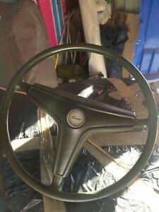 Mk1 Escort Steering Wheel rare green