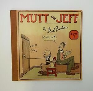 1920 MUTT AND JEFF - Book 7 by Bud Fisher, Comic Strip, Cartoon, Comic Book, VG
