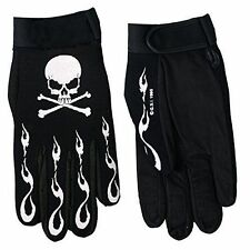 Skull and Crossbones Mechanic Gloves Hot Leathers  NEW USA SHIPPER
