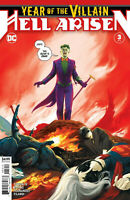 YEAR OF THE VILLAIN HELL ARISEN #3 1st Full Apperance of PUNCHLINE 2nd Print NM