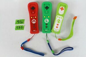 Nintendo Wii Remote Plus Mario, Luigi, Yoshi Controller set working japan C3C
