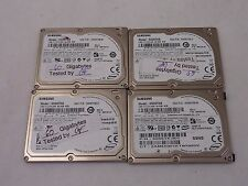 Lot of 4 Samsung Hard Drive, HS06THB 60GB for iPods Classic 5,6,7th Gens.