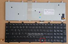 NEW For Clevo P150SM P170SM P270WM Keyboard Backlit Swedish SD Finnish Nordic