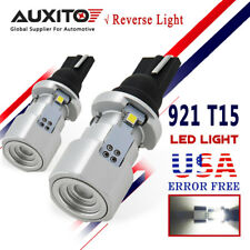 AUXITO 2x T15 921 LED Bulb Reverse Backup Light 6500k White CANBUS 912 W16W