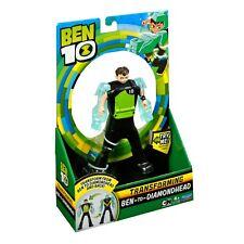 Ben 10 - Ben To Diamondhead Transforming Figure - Brand New