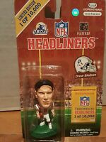 DREW BLEDSOE 1997 HEADLINERS THROWBACKS LIMITED EDITION /10000 FIGURE PATRIOTS