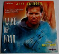 LASERDISC - PAL - LAME DE FOND - avec Jeff Bridges