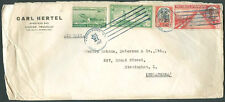 DOMINICAN REPUBLIC TO GREAT BRITAIN Air Mail Cover 1937 VF