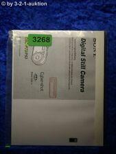 Sony Bedienungsanleitung DSC P73 /P93 Digital Still Camera (#3268)