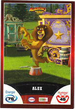 Vignette de collection autocollante CORA Madagascar 3 n° 44/90 - Alex