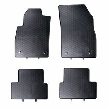 FLOOR MATS FIT OPEL ASTRA J (2009-) RUBBER BLACK TAILORED