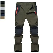 Men's Quick Drying Hiking Pants Lightweight Waterproof Outdoor Hiking Trousers