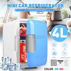 Mini Car Fridge Portable 12V 4 Liters Mini Refrigerator Cooler and Warme _ photo