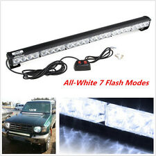 24LED Car Flashing Emergency Light Grill Roof Light Beacon Strobe Flash Lamp New