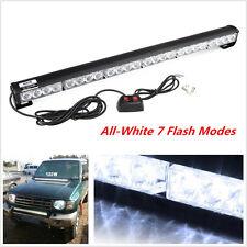 24LED Car Flashing Emergency Light Grill Roof Light Beacon Strobe Flash Lamp New