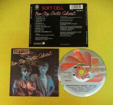CD SOFT CELL Non Stop Erotic Cabaret 1987 Germany VERTIGO  no lp mc (CS38)