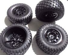KF Short Course truck 1/10 wheel & tyre set 12mm hex - Traxxas Slash HPI Blitz