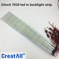 10pcs/lot 32inch 7020 LEDedge strip Aluminum Plate Strip Backlight Lamps led TV