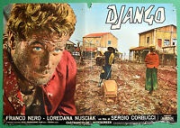 T32 Fotobusta Django Franco Schwarz Loredana Nusciak Sergio Corbucci 1