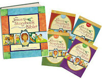 The Jesus Storybook Bible & The Jesus Storybook DVD 1-4 (Bible & 4 DVD Set)
