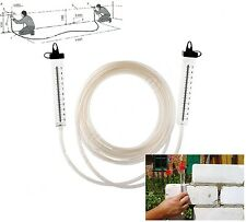 Level measure, Water leveler 7m hose level for building a house, floor, ceiling
