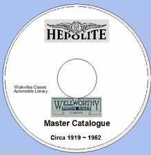 Wellworthy & Hepolite Piston Ring Information DVD rom  circa 1919~1962