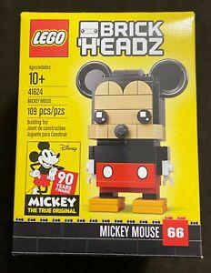 LEGO BrickHeadz Disney Mickey Mouse 41624 Retired Sealed NEW